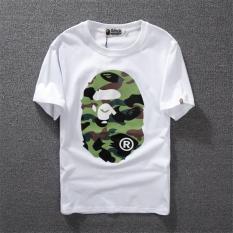 Men and Women Summer Fashion Monkey Bape O-neck Short Sleeves T-shirt Adult