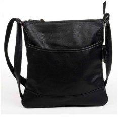 Men Bag Retro Shoulder Bag Crossbody Bag Messenger Bag Casual Crazy Horse Leather Tote - Intl