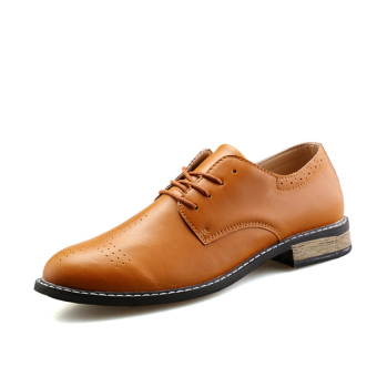 Men Fashion Formal Shoes (Brown)