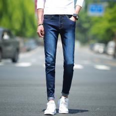 Men Korea Style Slim Jeans Pants MCN8032 - Intl