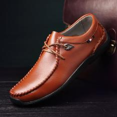 Men 's New Leisure Fashion Shoes Formal Leather Shoes - Intl