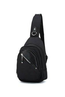 Men Shoulder Bag (Black)