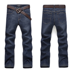 Men Straight Slim Fit Casual Jean (Intl)