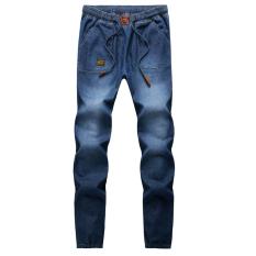 Men Stretchy Slim Jeans Pants - Intl