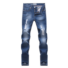 Men Stretchy Straight Jeans Pants (Intl) - Intl
