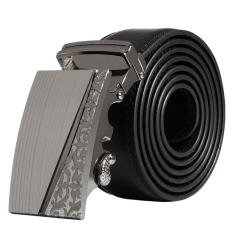 Men Stylish Leather Automatic Buckle Belts Luxury Waist Strap Belt Waistband HOT C