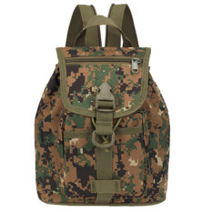 Men Women Backpack Rucksack School Bag Outdoor Shoulder Bag (Forest Digital - Intl