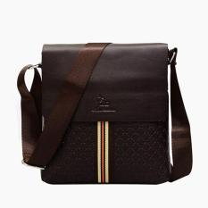 Men's Classic Design Soft Leather Business Bag Practical Flip-type Lock Catch Various Pattern Shoulder Bag Vertical Leisure Crossbody Bag ϼ