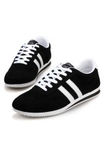 Men's Fashion Casual Shoes (Black) (Intl)