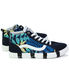 Men's Fashion Sneakers With High Cut 723&Blue (Intl) - Intl