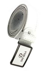 Men's Fashion Waist Belt Business Pin Buckle Belt White (Intl)