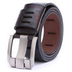 Men's Genuine Leather Belt Fashion Belts 110cm (Intl)