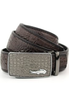 Men's Leather Belt Crocodile Belt For Men