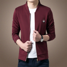 Men's New Leisure Slim Thin Section Jacket (Red) - Intl