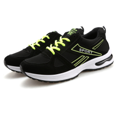 Men's New Spring Air Cushion Sneakers Black&Green