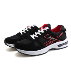Men's New Summer Breathable Air Cushion Sneakers Black