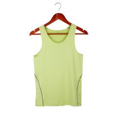 Men's Sports Vest Tight Perspiration Wicking Vest (Fluorescent Green) - Intl - Intl