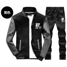 Men's Track Suit Collar Long-sleeved Cardigan Thin Models Sportswear Jogging Suits Casual Jacket