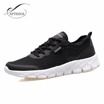 Men/women Mesh Shoes Running Shoes Color black EU 35-48 - intl