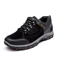 Might&Sight Flat Sports Outdoors Hiking Shoes 30(Black) - intl