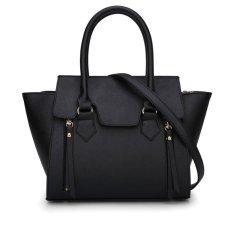 Mini Bag Button Belt Chain Candy Black Envelope Pillow Cover Phone Dress Cross Handbag Women's Bags Women's Handbag - BLACK