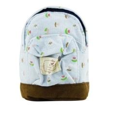 Mini Coin Small Purse Kawaii Bag Children's Wallets Pouch Fabric Bag (Blue) BB101-SZ +
