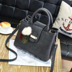 MiRaBiLe TAS ELEGAN WANITA , tas tangan wanita , top handle bags , handbag murah , tas selempang murah - GREY