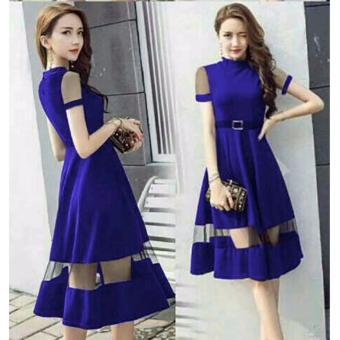 Muslim Wear Ayako Fashion Lazada co id Source · MJ Dress Cia Blue