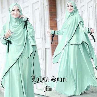 MJ Gamis Lolita Syari - Mint