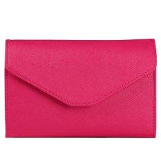 Moonar Travel Ticket Wallet Passport Bags ID Credit Card Holder Handbag (Red)