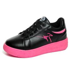 MT Fashion Sports Shoes, Casual Breathable Platform Shoes (Black) - Intl