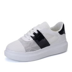 MT Shoes New Breathable Mesh Shoes, Fashion Institute Wind Sneakers (White) - Intl