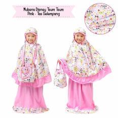 Mukena Anak Muslimah Dis Tsum Pink