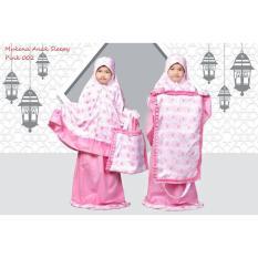 Mukena Anak Muslimah Sleepy Pink 002