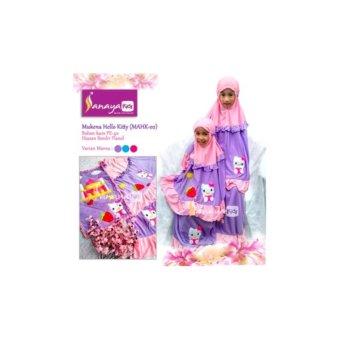 Mukena Anak Sanaya Kids Hello Kitty fit S