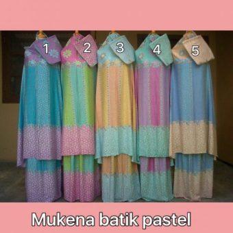 Mukena Batik Pastel Warna No.5