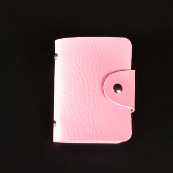 Multifungsi pria kartu kredit kartu nama catok kecil dompet kartu (Bedak [24 bit kartu