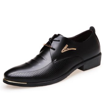 New And Fashion Mens Leather Shoes Dress Business WorkingShoes Wedding