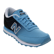 New Balance Women's Lifestyle 501 Casual Shoes - Biru-Hitam