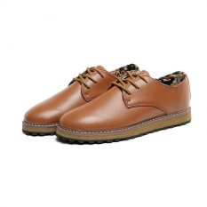 New British Style Retro Leather Business Casual Shoes Pointed Oxford