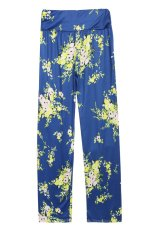 New Fashion Ladies Women Loose Print Straight Long Pants (Intl)
