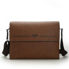 New hot sale PU Leather Men Bag Fashion Men Messenger Bag small Business crossbody shoulder Bags LJ-226 - intl