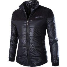 New Men's Fashion Casual Jacket Solid Men's College Coat Jacket Men Y209 Black