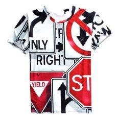New Summer Casual Men T-Shirts 3D Cotton Blend Men's O-neck Short Sleeve Code F (Intl)