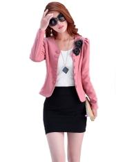 New Women's Fashion Coat Jacket Suit Long Sleeve Short Coat Outerwear