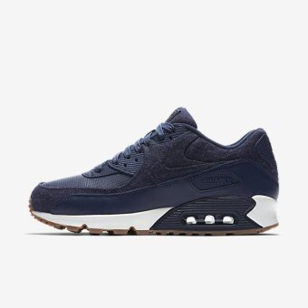 NIKE MEN AIR MAX 90 PREMIUM SHOE NAVY 700155-401 US7-11 11' - intl