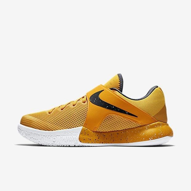 NIKE MEN ZOOM LIVE EP BASKETBALL SHOE YELLOW 852420-999 US7-11 03' - intl