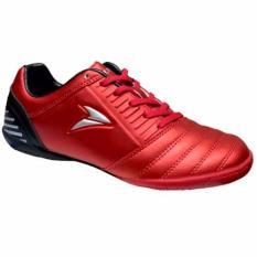 Nobleman Sepatu Futsal Baal - Merah-Silver