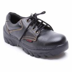 Octopus Sepatu Safety Industrial / Safety Shoes OX 301 - Hitam