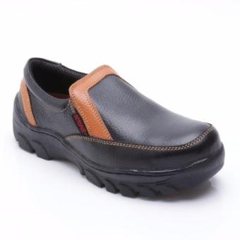 Octopus Sepatu Safety Industrial / Safety Shoes OX 303-Hitam Kombinasi